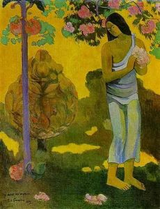 Paul Gauguin - te Avae No Maria (also known as Month of Mary)