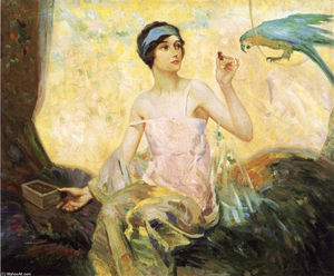 Robert Lewis Reid - Tempting Sweets