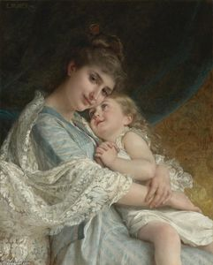 Emile Munier - A Tender Embrace