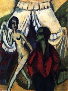 Ernst Ludwig Kirchner - The Tent