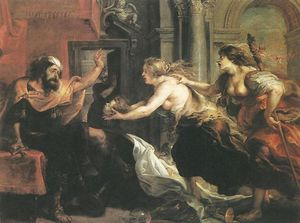 Peter Paul Rubens - Tereus Confronted with the Head of His Son Itylus