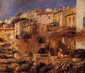 Pierre-Auguste Renoir - Terraces at Cagnes
