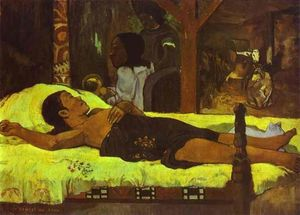Paul Gauguin - Te tamari no atua (also known as Nativity)