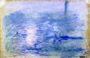 Claude Monet - The Thames in Fog