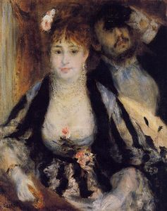 Pierre-Auguste Renoir - The Theater Box