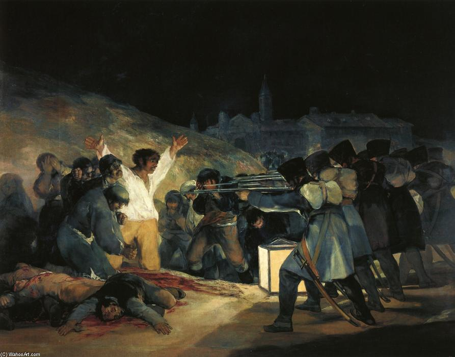 The Third of May 1808, Painting by Francisco De Goya (1746-1828, Spain)