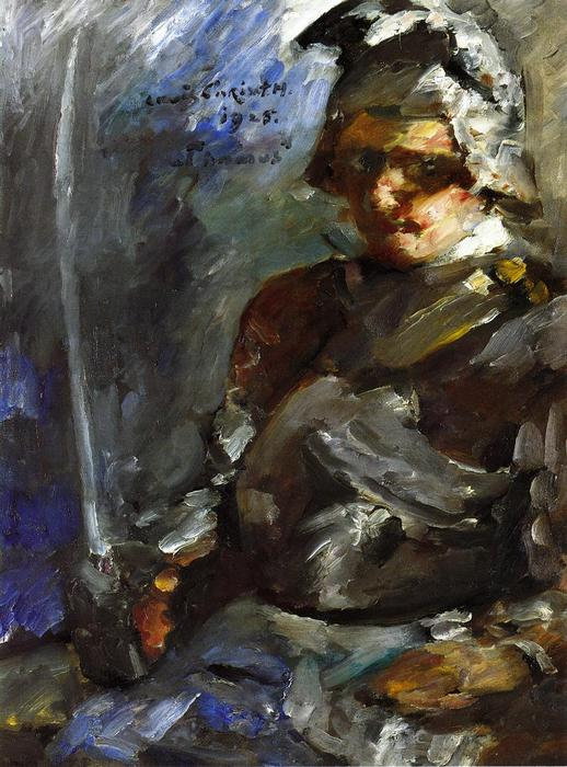 Thomas in Armour, Oil On Canvas by Lovis Corinth (Franz Heinrich Louis) (1858-1925, Netherlands)
