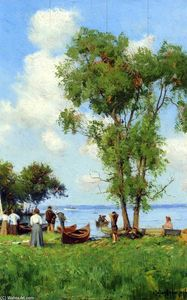 Robert Julian Onderdonk - A Thousand Islands, St. Lawrence River