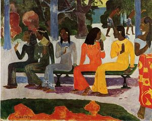 Paul Gauguin - Ta Matete (also known as The Market)