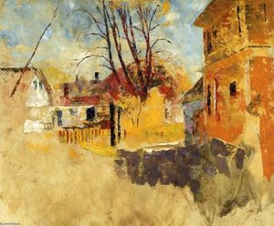 Charles Webster Hawthorne - Town View, Provencetown