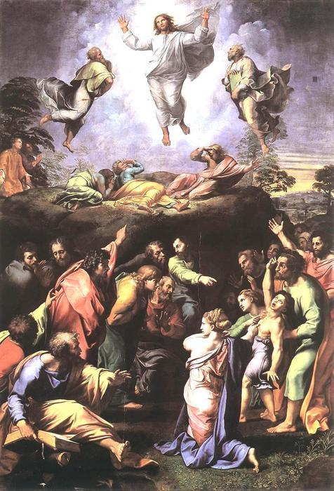 The Transfiguration, 1519 by Raphael (Raffaello Sanzio Da Urbino) (1483-1520, Italy) | Art Reproduction | WahooArt.com