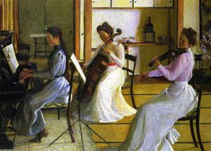 Lilla Cabot Perry - The Trio, Tokyo, Japan