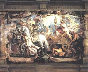 Peter Paul Rubens - Triumph of Church over Fury, Discord, and Hate