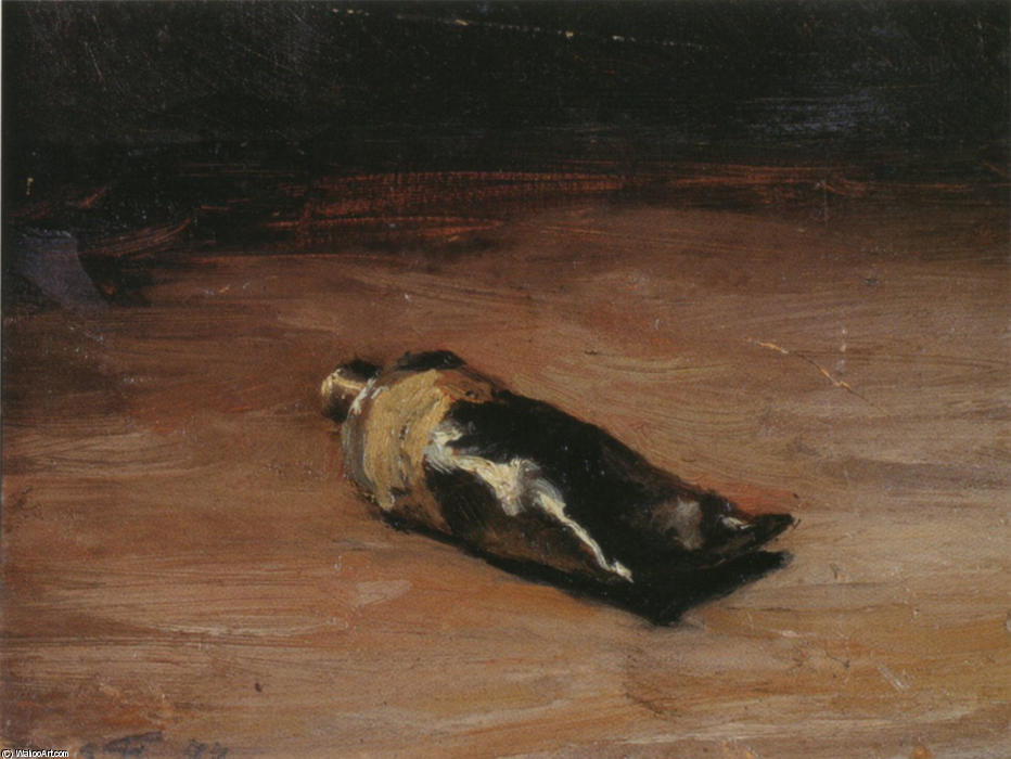 Tube of Gouache, 1877 by Émile Friant (1863-1932, France)