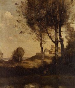 Jean Baptiste Camille Corot - Tuscan Beaters