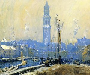 Arthur Clifton Goodwin - T Wharf
