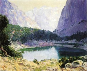 Guy Orlando Rose - Twin Lakes, High Sierra
