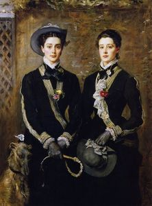 John Everett Millais - Twins (also known as Kate and Grace Hoare)
