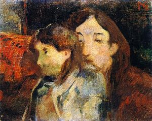 Paul Gauguin - Two People on a Sofa