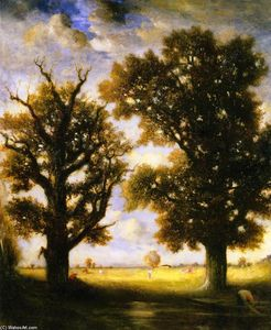 Gilbert Munger - Two Trees