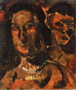 Georges Rouault - Two Women's Heads