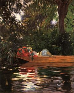 John Singer Sargent - Under the Willows