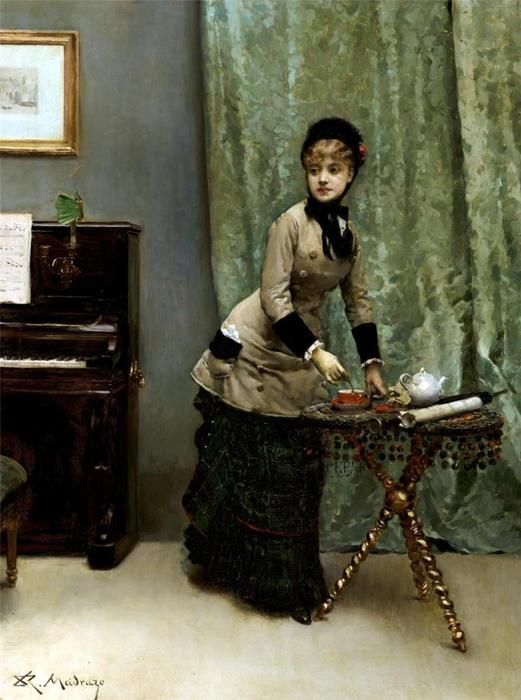Untitled by Raimundo De Madrazo Y Garreta (1841-1920, Italy)