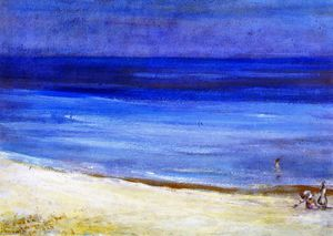 Charles Edward Conder - Untitled (Seascape)