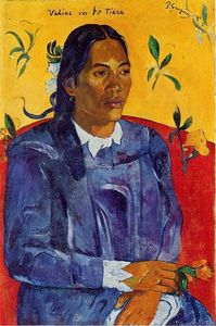 Paul Gauguin - Vahine no te Tiare (also known as Woman with a Flower)