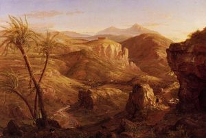 Thomas Cole - The Vale and Temple of Segeste, Sicily