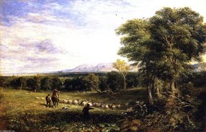David Cox - Vale of Clwyd