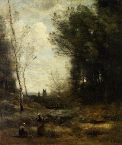 Jean Baptiste Camille Corot - The Valley