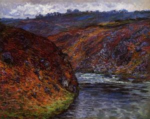 Claude Monet - Valley of the Creuse, Grey Day