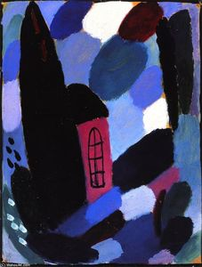 Alexej Georgewitsch Von Jawlensky - Variation: House in Trees