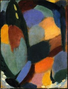 Alexej Georgewitsch Von Jawlensky - Variation on a Landscape Theme