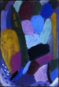 Alexej Georgewitsch Von Jawlensky - Variation: Twilight