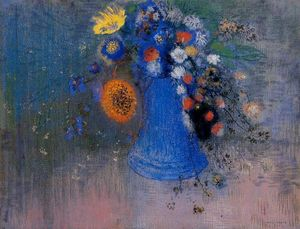 Odilon Redon - Vase of Flowers (8)
