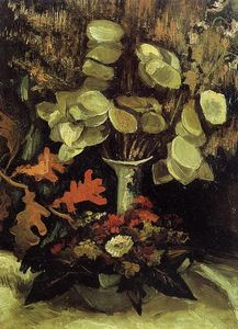 Vincent Van Gogh - Vase with Honesty