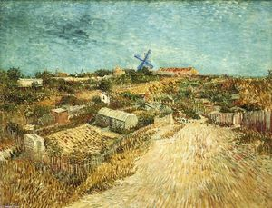 Vincent Van Gogh - Vegetable Gardens in Montmartre