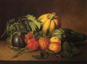 James Peale - Vegetable Still Life