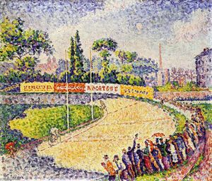 Paul Signac - The Velodrome