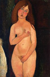 Venus (also known as Standing Nude) - (Amedeo Modigliani)