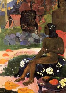 Paul Gauguin - Viaraumati Tei Oa (also known as Her Name is Viaraumati)