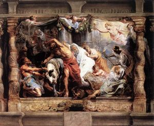 Peter Paul Rubens - The Victory of Eucharistic Truth over Heresy
