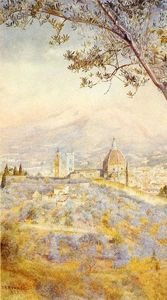 Henry Roderick Newman - View of Florence from the East