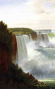 Joachim Ferdinand Richardt - View of Niagara Falls