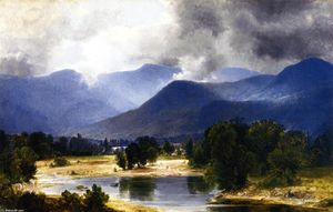 Asher Brown Durand - View of the Shandaken Mountains