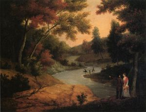 James Peale - View on the Wissahickon