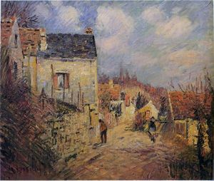 Gustave Loiseau - The Village