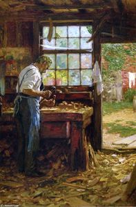 Edward Henry Potthast - The Village Carpenter